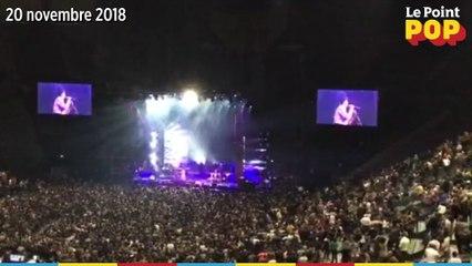 Les dernières secondes du concert de Lauryn Hill le 20 novembre 2018