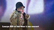 Lauryn Hill se fait huer à son concert