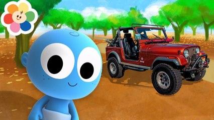 Aprende Los Vehiculos | Jeep, El Barco y Mas | Goo Goo | BabyFirst Españo