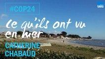 COP 24 : Ce que Catherine Chabaud a vu en mer