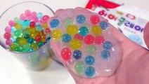 개구리알+액체괴물=? 만들기 팜팜 액괴 클레이 점토 모래 샌드 미니어쳐 장난감 Orbeez глина слизь игрушка Polymer Balls Clay Slime Toys