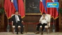 President Rodrigo Roa Duterte and President Xi Jinping exchange of agreements