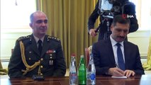 - Genelkurmay Başkanı Orgeneral Güler, 'Dağlık Karabağ sorunu hem Türkiye hem de Azerbaycan için önemli bir konu'- Azerbaycan Cumhurbaşkanı İlham Aliyev, Genelkurmay Başkanı Orgeneral Yaşar Güler'i kabul etti