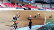 Baptème piste au vélodrome national de St Quentin pour les jeunes du VS