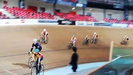 Baptème piste au vélodrome national de St Quentin pour les jeunes du VCS