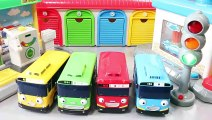 Tayo the Little Bus English Learn Numbers Colors Play Doh Ice Cream Toy Surprise Toys