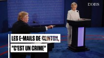Toutes ces fois où Donald Trump s'est acharné sur Hillary Clinton pour ses e-mails persos