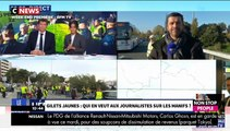 Gilets jaunes - Enquête sur les journalistes des chaînes info pris à partie et bousculés par les manifestants
