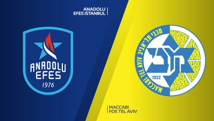 EuroLeague 2018-19 Highlights Regular Season Round 8 video: Efes 90-77 Maccabi