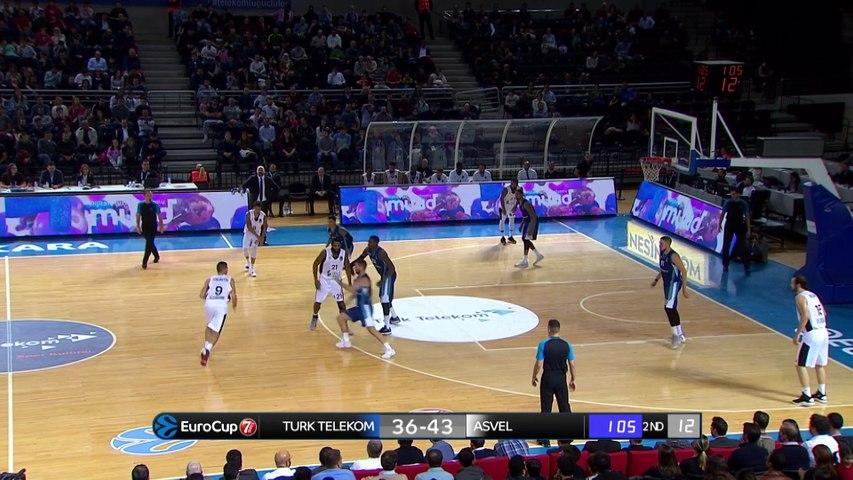 Turk Telekom Ankara - LDLC ASVEL Villeurbanne Highlights | 7DAYS EuroCup, RS Round 8