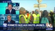 """Gilets jaunes: Christophe Castaner """"n'essaie pas de rétablir l'ordre, il essaie de faire peur"""", Gilbert Collard"""
