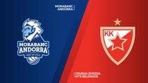 MoraBanc Andorra - Crvena Zvezda mts Belgrade Highlights   7DAYS EuroCup, RS Round 8