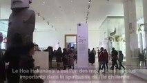 """Londres: l'île de Pâques veut récupérer sa statue """"moaï"""""""