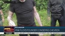 Roger Waters in Ecuador