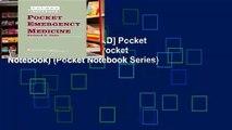 F R E E [D O W N L O A D] Pocket Emergency Medicine (Pocket Notebook) (Pocket Notebook Series)