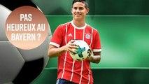 Les six raisons pour lesquelles James n'est pas heureux au Bayern