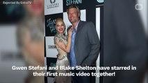 Gwen Stefani & Blake Shelton Cuddle In 'You Make It Feel Like Christmas' Music Video