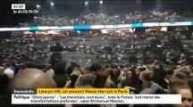 Regardez le public huer Lauryn Hill hier soir à Paris après 2h30 de retard sur scène ! Vidéo