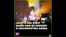 Le concert de Lauryn Hill ne s'est pas déroulé comme prévu