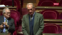 """Gérard Longuet appelle Brune Poirson, """"Madame le ministre"""""""