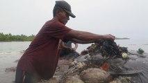 شاهد: نفوق حوت بعد العثور على 6 كيلوغرامات من مخلفات البلاستيك في إندونيسيا