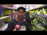 Consumidores se animam com a Copa e vão às compras