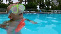 Glow In The Dark Swimming! GoPro Dive Sticks In The Dark!