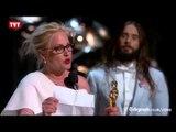 Atriz vencedora de Oscar faz discurso em defesa das mulheres