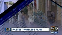 Which wireless carrier has the fastest speeds?