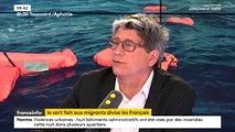"""On a aujourd'hui """"une politique à la fois inhumaine et inefficace"""". """"Je suis favorable"""" à un """"statut de détresse humanitaire pour des raisons économiques et climatiques"""" affirme Eric Coquerel, député La France Insoumise de Seine-Saint-Denis."""