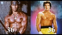 Arnold Schwarzenegger X Sylvester Stallone Body Transformation Comparision Before & After