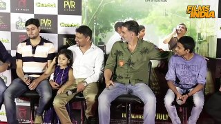 Akshay Kumar Speaking FUNNY Marathi With Reporters At Chumbak Trailer Launch