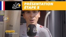 Présentation - Étape 5 - Tour de France 2018