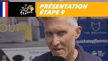 Présentation - Étape 9 - Tour de France 2018