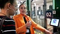 Contrôle par reconnaissance faciale à l'aéroport d'Orly