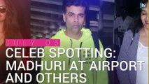 Celeb Spotting: See pics of Tusshar Kapoor' son Laksshya, Madhuri Dixit and Anil Kapoor
