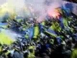 derby ultras maccabi fire in blumfild stadium fumi hooligans