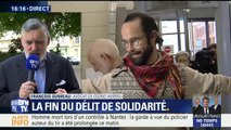 """Fin du délit de solidarité : """"Cette décision nous indique une voie juste"""""""