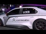 Sebastien Loeb and Citroën C-Elysée WTCC at IAA 2013 | AutoMotoTV