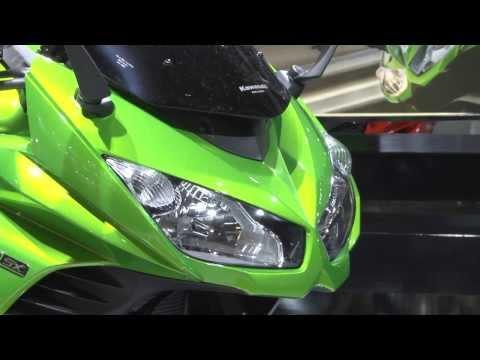 Kawasaki at EICMA 2013 Live – Kawasaki Z1000 | AutoMotoTV