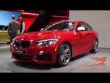BMW 2 Series Coupe, BMW M3 Sedan and BMW M4 Coupe - 2014 NAIAS | AutoMotoTV