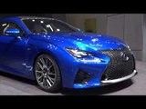 Lexus RC F at Geneva Motor Show 2014 | AutoMotoTV