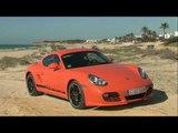 The new Porsche Cayman / Porsche Cayman S  (by UPTV)