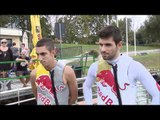Toro Rosso 2011  Selects   Wakeboarding Buemi and Alguersuari before the Italian GP