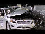 Front crash tests for selected 2015 TOP SAFETY PICK+ award winners Volvo S60 | AutoMotoTV