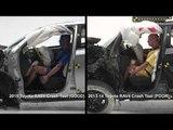 Crash protection - Vehicle improvements 2015 Toyota RAV4 Vs 2013-14 Toyota RAV4   AutoMotoTV