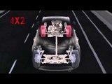 Fiat 500X Proving Ground Center of FCA in Arjeplog, Sweden - AWD system | AutoMotoTV