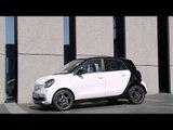 Geneva Motor Show 2015 - Smart forfour Exterior Design | AutoMotoTV