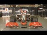 F1 Mclaren Mercedes MP4-24 Garage