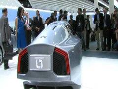 IAA 2009 Volkswagen presents L1 one litre car